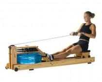 Rudermaschine mit Wasserradsystem